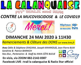 calanquaise 2020  REMERCIEMENTS Visio 2.