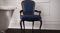 chambre de bain classique chaise