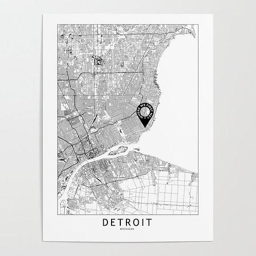 Detroit Custom Map