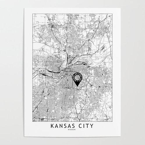Kansas City Custom Map
