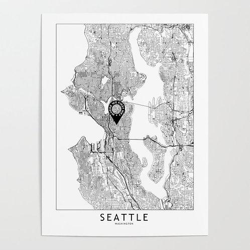 Seattle Custom Map