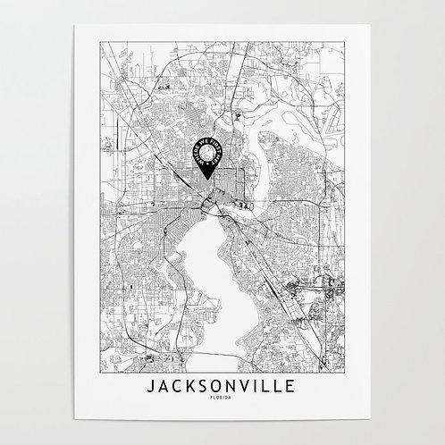 Jacksonville Custom Map