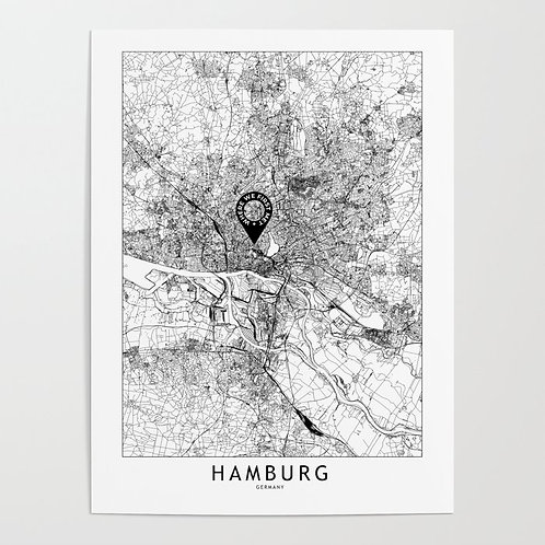 Hamburg Custom Map