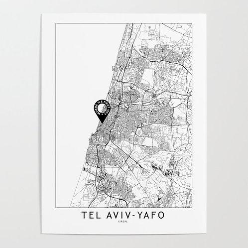 Tel Aviv-Yafo Custom Map