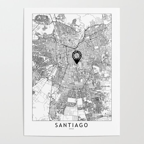 Santiago Custom Map