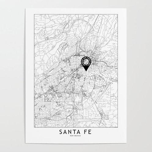 Santa Fe Custom Map