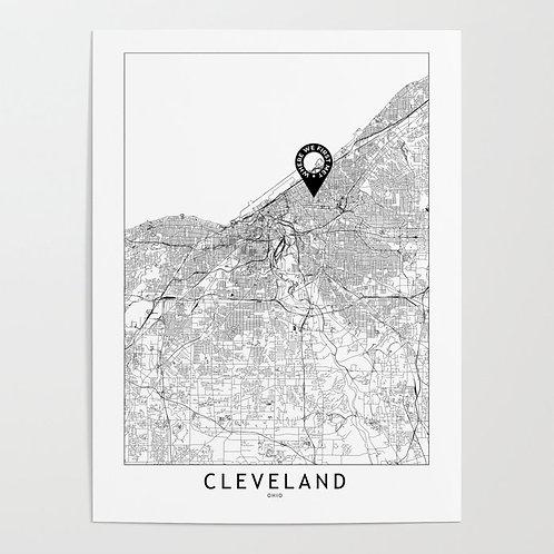 Cleveland Custom Map