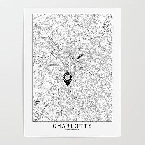 Charlotte Custom Map