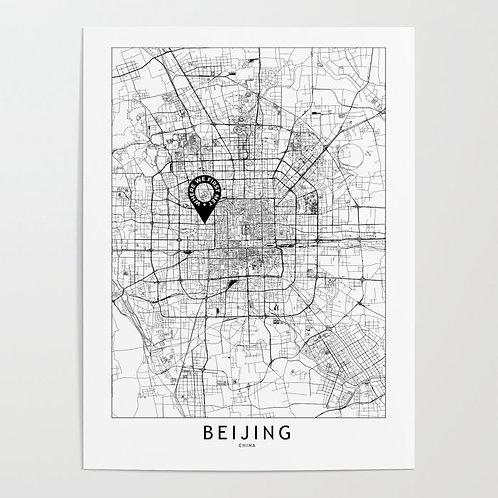 Beijing Custom Map