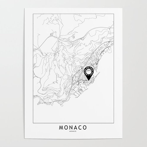 Monaco Custom Map