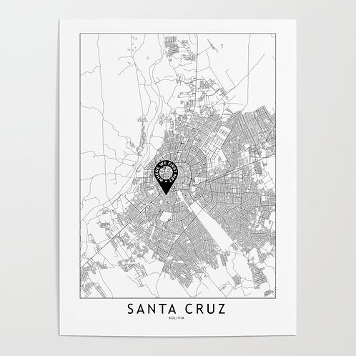 Santa Cruz Custom Map