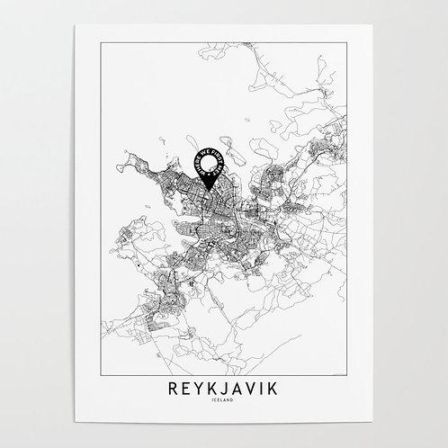 Reykjavik Custom Map