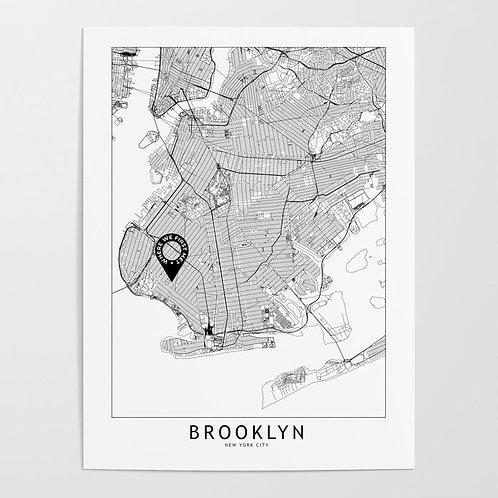 Brooklyn Custom Map