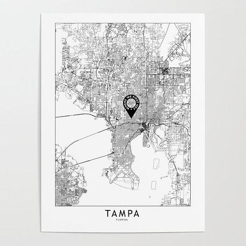 Tampa Custom Map