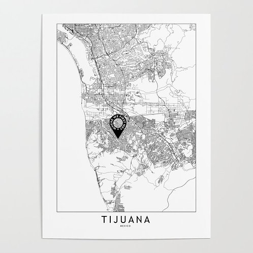 Tijuana Custom Map