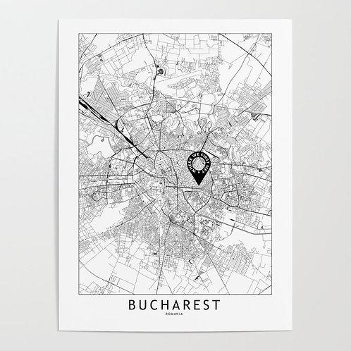 Bucharest Custom Map