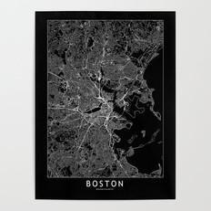 Boston Map Poster