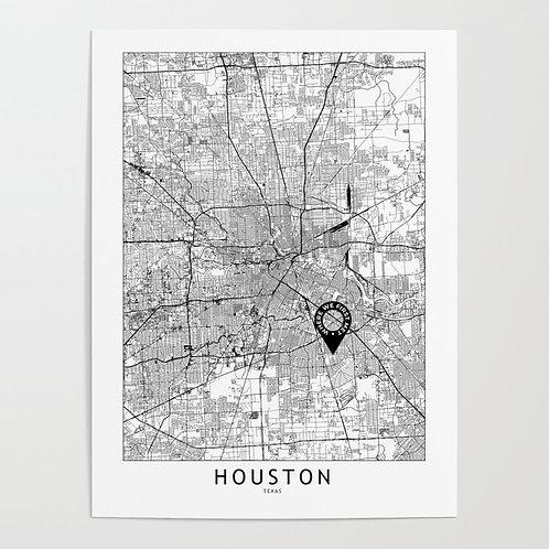 Houston Custom Map
