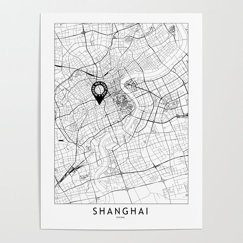 Shanghai Custom Map