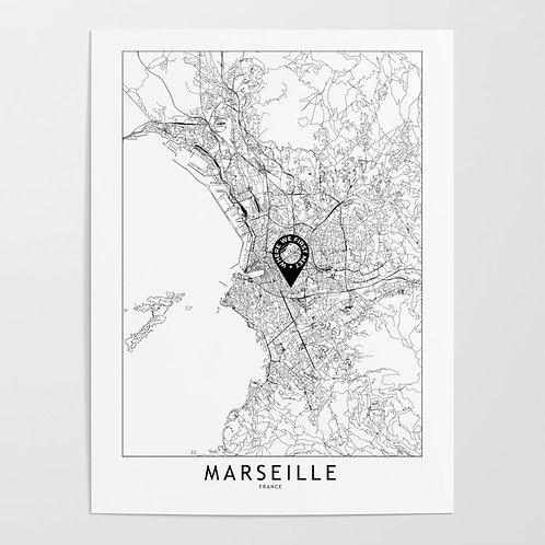 Marseille Custom Map