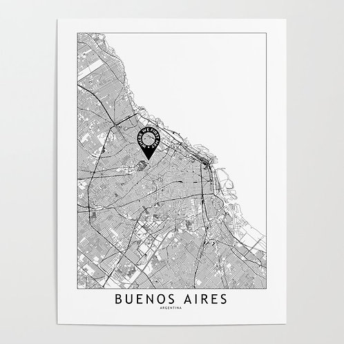 Buenos Aires Custom Map