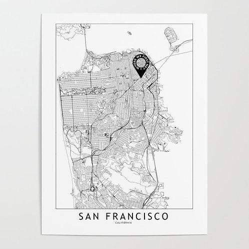 San Francisco Custom Map