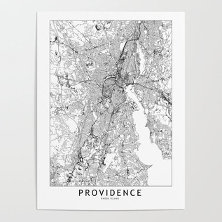 Providence Map Poster