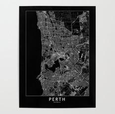 Perth Map Poster