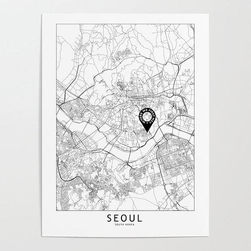 Seoul Custom Map