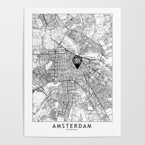 Amsterdam Custom Map