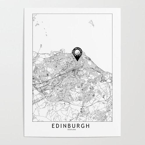 Edinburgh Custom Map