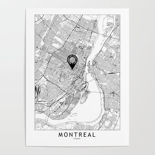 Montreal Custom Map