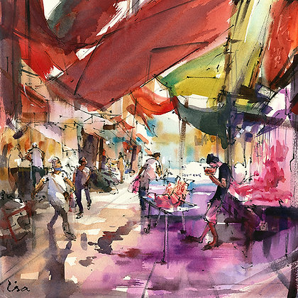 "Lisa Huang - ""Butcher Stalls"" - Signed Limited Edition of 25"