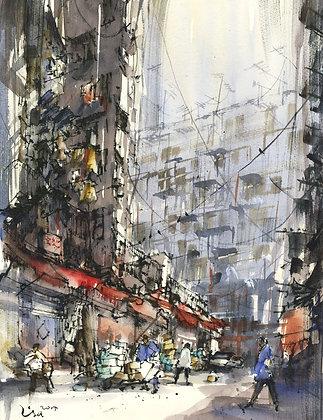 "Lisa Huang - ""Morning Hong Kong"" - Original"