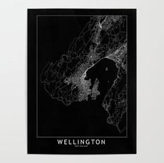 Wellington Map Poster