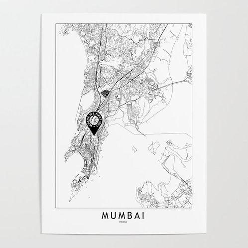 Mumbai Custom Map