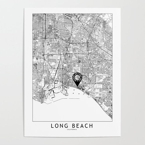 Long Beach Custom Map