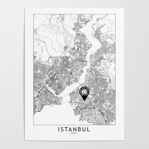 Istanbul Custom Map