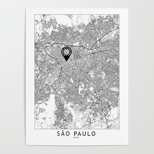Sao Paulo Custom Map