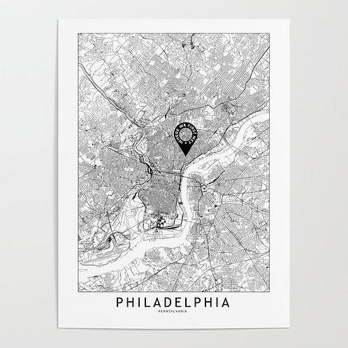 Philadelphia Custom Map