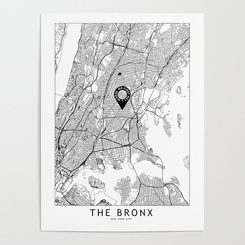 The Bronx Custom Map