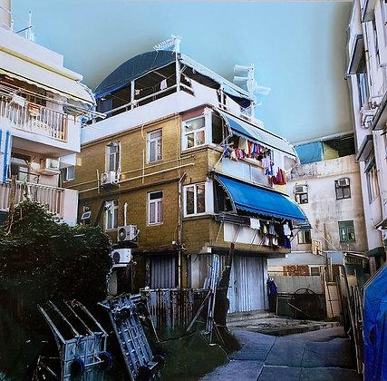"Camille Levert - ""Cheung Chau House #1"" - Original"