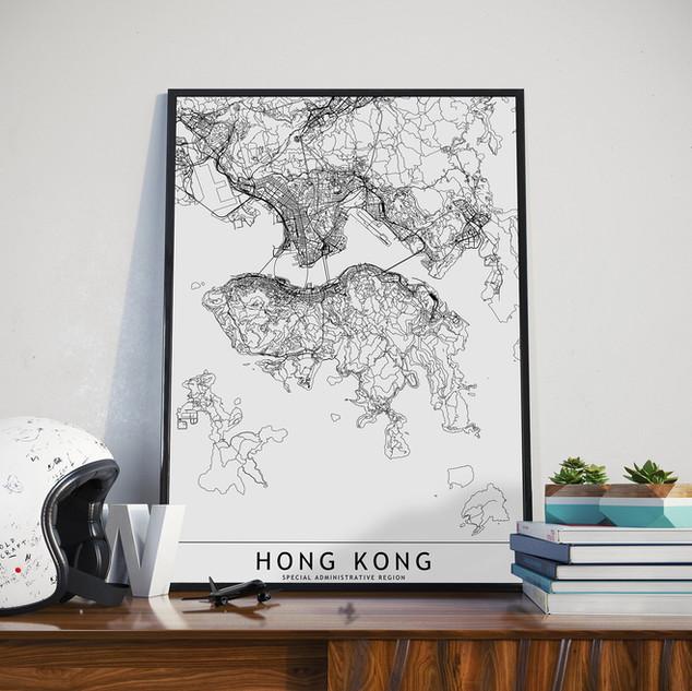 Hong Kong City Map