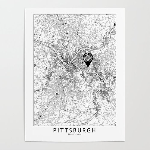 Pittsburgh Custom Map