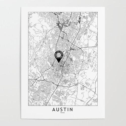 Austin Custom Map
