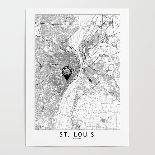 St Louis Custom Map