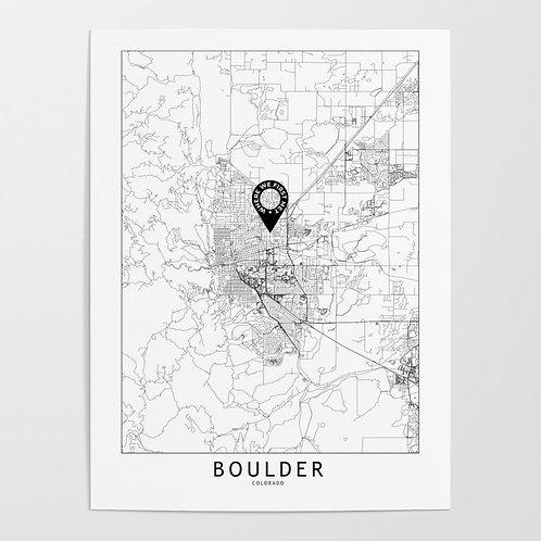 Boulder Custom Map