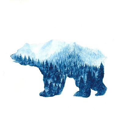 "The Quiet Place - ""The Polar Bear"" - Original"