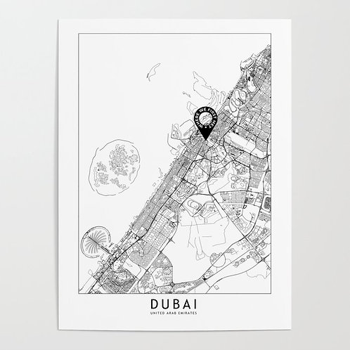 Dubai Custom Map