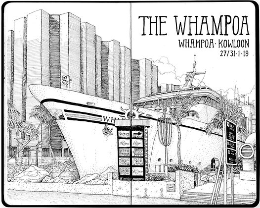 "The Ink Trail - ""The Whampoa"" - Limited Edition of 50"